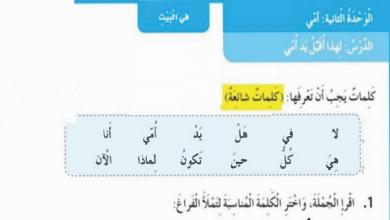 Photo of حل درس لهذا أقبل يد أمي لغة عربية صف أول فصل ثالث