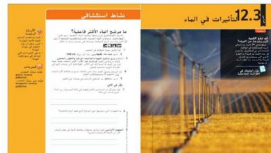 Photo of دليل المعلم درس التاثيرات في الماء علوم صف سادس فصل ثالث