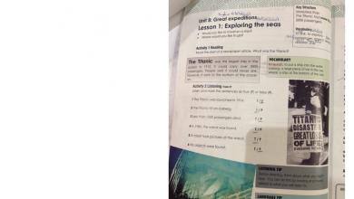 Photo of حل كتاب أكسس بوك لغة إنجليزية صف ثامن فصل ثالث