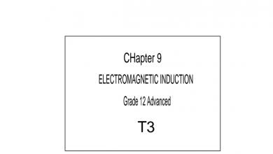 Photo of الحث المغناطيسي فيزياء منهج إنجليزي صف ثاني عشر متقدم فصل ثالث
