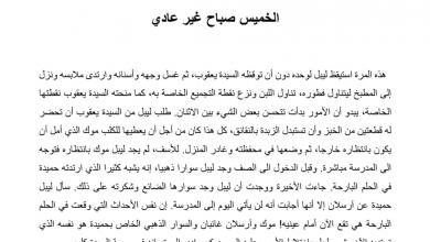 Photo of تلخيص درس الخميس صباح غير عادي رواية أحلام ليبل السعيدة