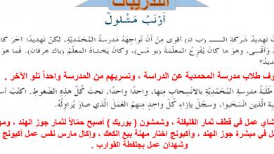 Photo of حل الفصل الرابع والثلاثون أرنب مشلول عساكر قوس قزح