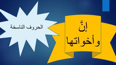 Photo of شرح درس الحروف الناسخة ان وأخواتها لغة عربية صف خامس فصل ثالث