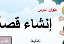 Photo of حل درس انشاء قصة لغة عربية صف أول فصل ثالث