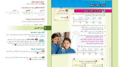 Photo of حل درس تقدير النسب المئوية رياضيات صف سادس فصل أول