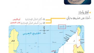 Photo of حل درس طبيعة بلادي 2 (الجزر والكثبان الرملية) دراسات اجتماعية صف رابع فصل أول