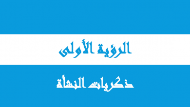 Photo of حل الرؤية الأولى ذكريات النشأة دراسات اجتماعية صف ثاني عشر فصل أول