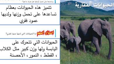 Photo of حل درس الحيوانات الفقارية علوم صف رابع فصل أول