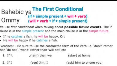 Photo of شرح الحالة الأولى من قاعدة if لغة إنجليزية صف سادس فصل أول