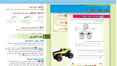 Photo of حل درس تناسب النسبة المئوية رياضيات صف سابع فصل أول