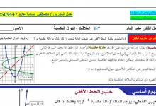 Photo of أوراق عمل محلولة العلاقات والدوال العكسية رياضيات صف ثاني عشر عام فصل أول
