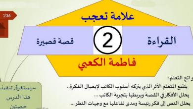 Photo of حل درس اللغة العربية علامة تعجب للصف الثاني عشر فصل أول