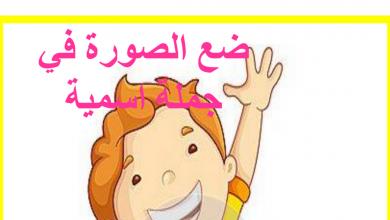 Photo of تدريبات الجملة الاسمية لغة عربية صف ثالث فصل أول