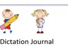 Photo of مذكرة إملاء Dictation لغة إنجليزية صف أول فصل أول