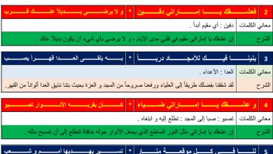 Photo of شرح قصيدة عشق الإمارات لغة عربية صف خامس فصل أول